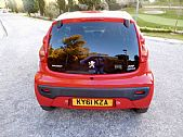 please mouse over this PEUGEOT107 thumbnail for larger photograph